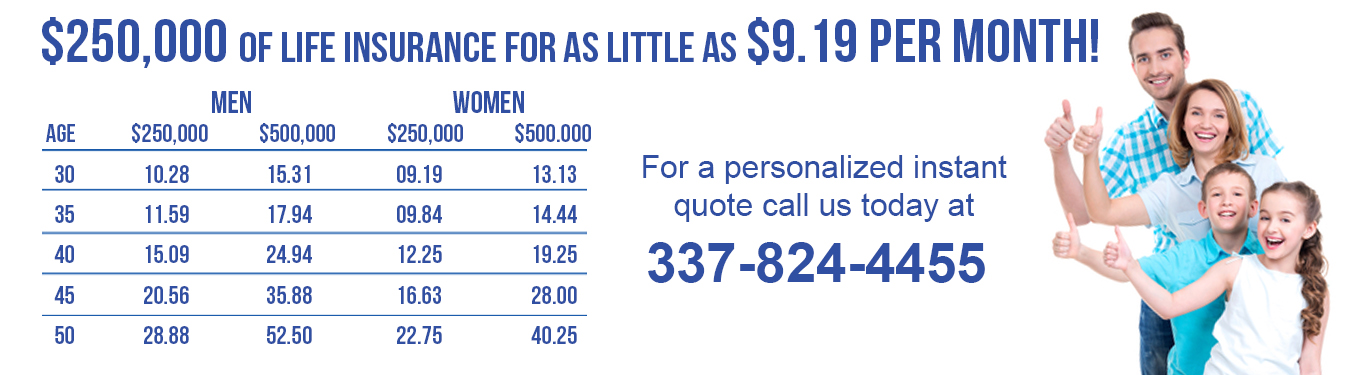 Life Insurance Louisiana